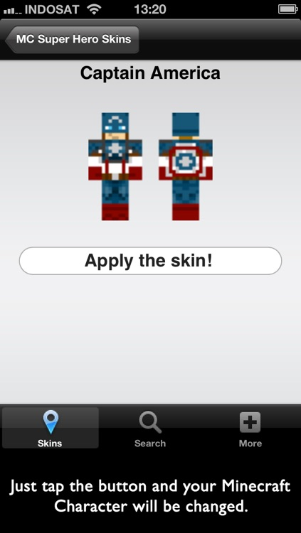 Super Hero Skins for Minecraft screenshot-3