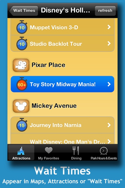 Disney World Mobile Guide screenshot-3