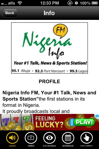 Nigeria Info FM screenshot 4