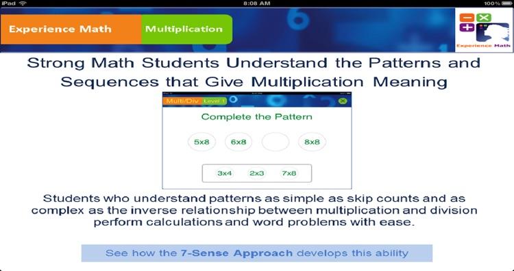 Multiplication - Teachers App