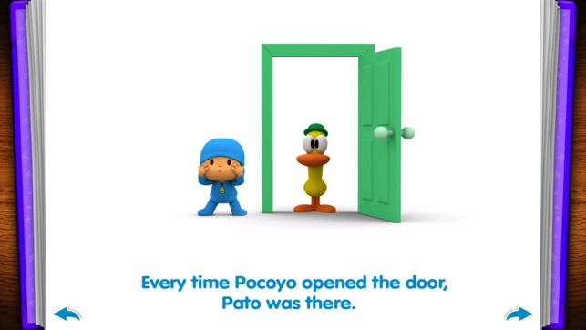 sc 1 st  iTunes - Apple & Pocoyo: A thousand door - Free book for kids on the App Store