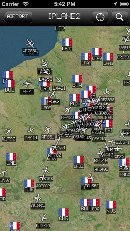 Toulouse-Blagnac Airport - iPlane2 Flight Information