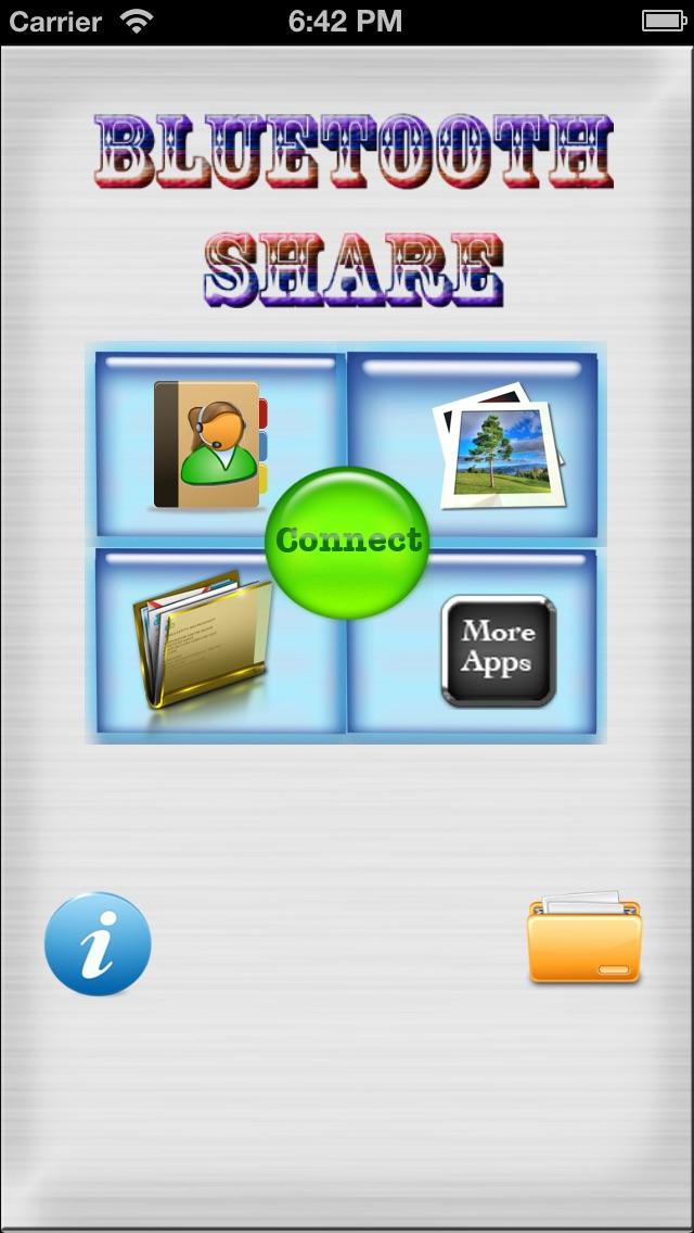Bluetooth Share HD Lite Скриншоты3