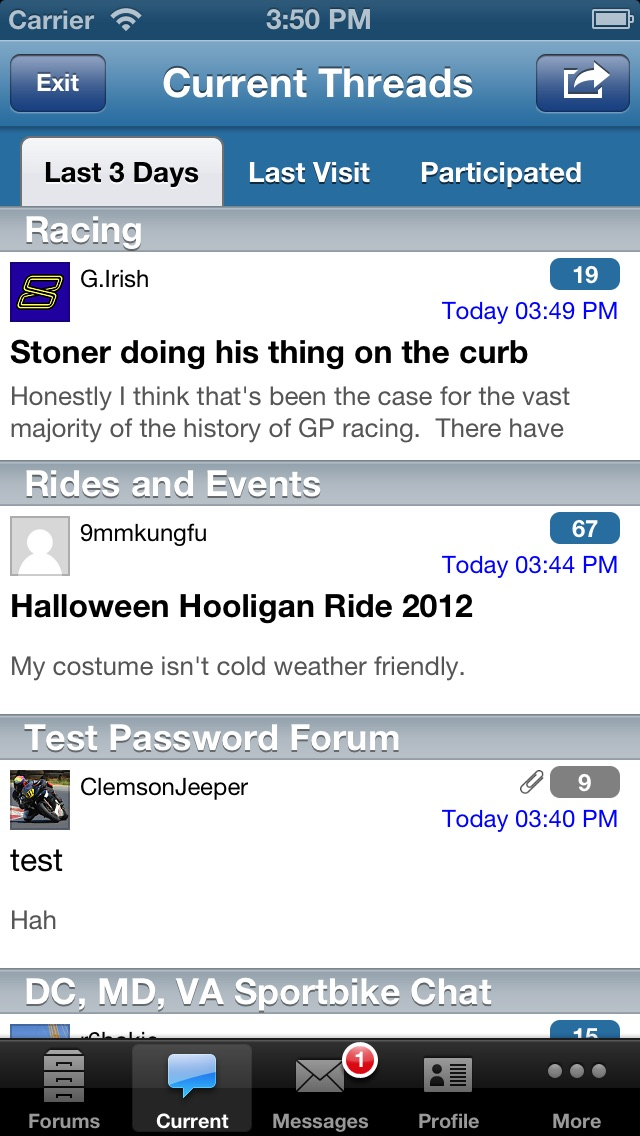 Forum Runner - vBulle... screenshot1