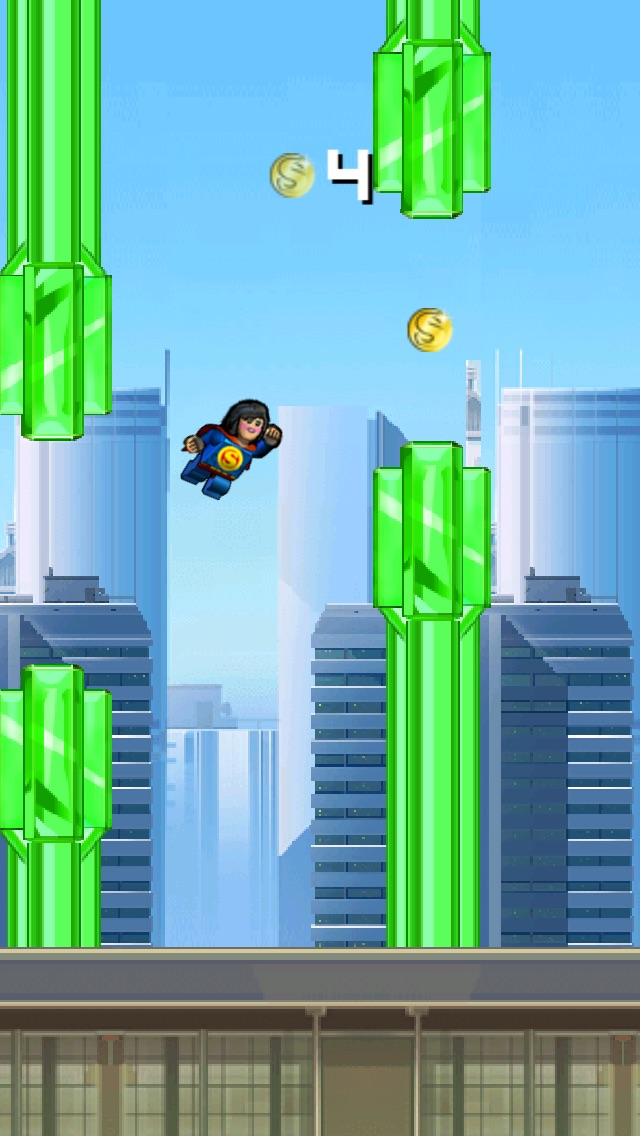 Super Flappy Justice League- Play Free Comic Hero Edition-3