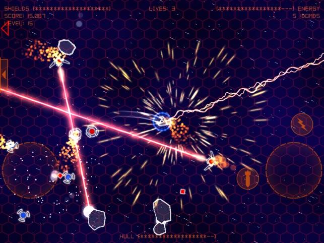 Alien Space Retro Screenshot