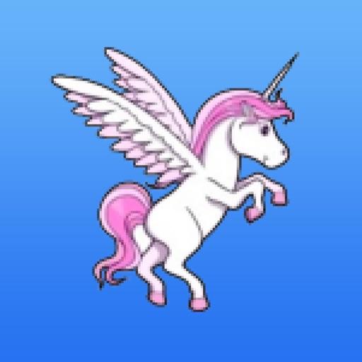 Flappy Unicorn - Rainbow Games Feat  The Robot Unicorn Attack Bird