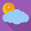 O tempo de aplicação previsão - 7 dias sem relatórios previsões meteorológicas para a sua localização actual e em todo o mundo