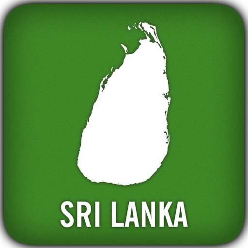 Sri Lanka GPS Map