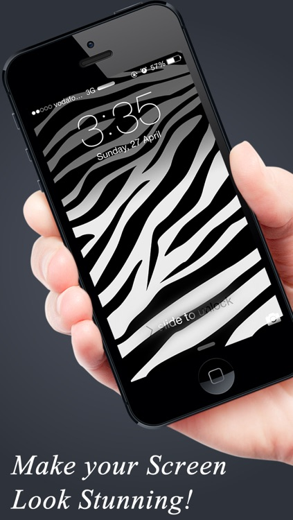 Skin My Screen - FREE Animal Print Wallpapers