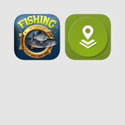 Fishing Tools: Fishing Calendar and Offline Maps