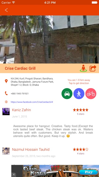 Food & Restaurant Finder - Find Eatery screenshot-3