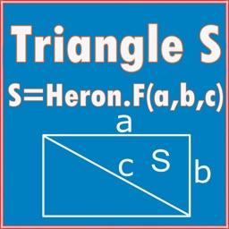 Square calculator(heron Formula) Triangle S