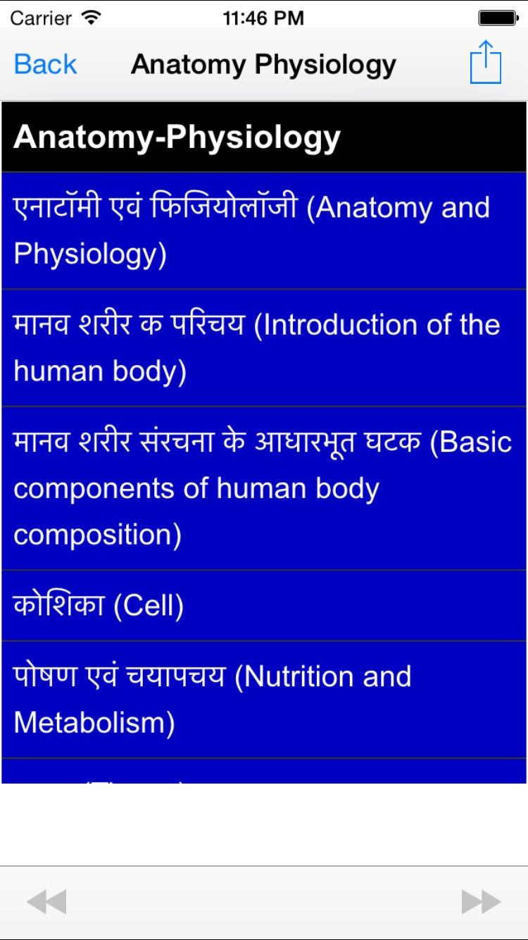 Anatomy Meaning In Hindi