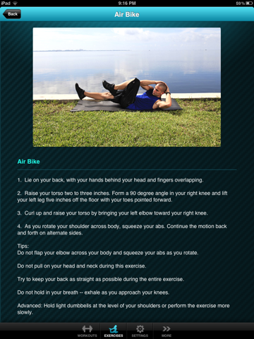 Ab Workout Free - Abdominal Crunch Exercise Workouts screenshot