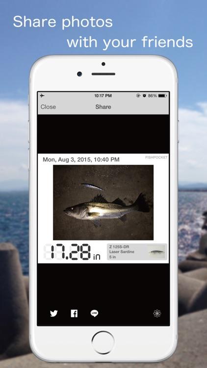 FISHPOCKET - Fish Measuring App screenshot-3