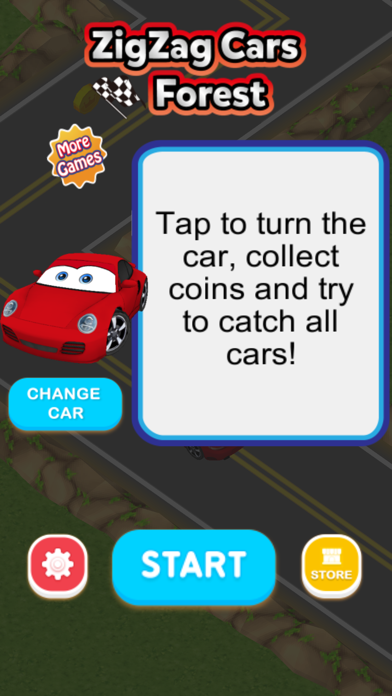 ZigZag Cars : Forest screenshot two