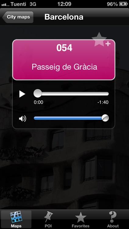 Barcelona touristic audio guide (english audio)