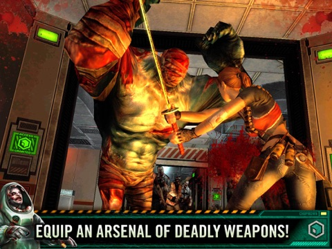 Screenshots of Contract Killer Zombies 2 for iPad