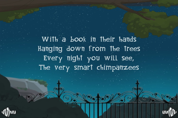 A night at the zoo - interactive book for children screenshot-3