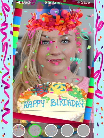 Screenshot 2 For Birthday Booth Greetings