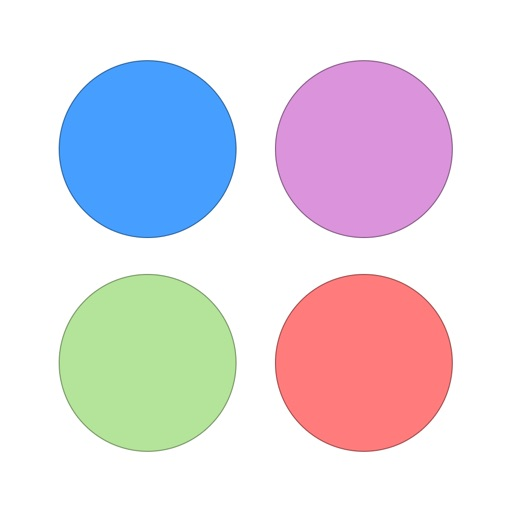 Circle Dot Puzzle Game for Girls Boys Kids and Teens by New Fun Match Games FREE