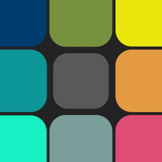"""Blendoku - The Puzzle Game About Color"""" im App Store"""