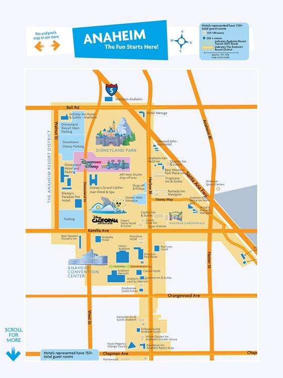 Anaheim/Orange County Travel Guide