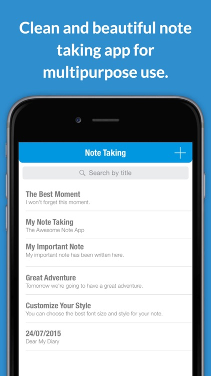 My Note Taking - Perfect notepad that helps you take note and journaling
