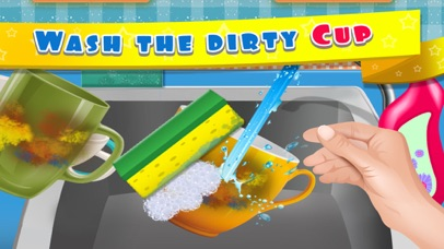 Kids Dish Washing and Cleaning Game - Free Fun Kitchen Games for Girls,Kids and Boys-4