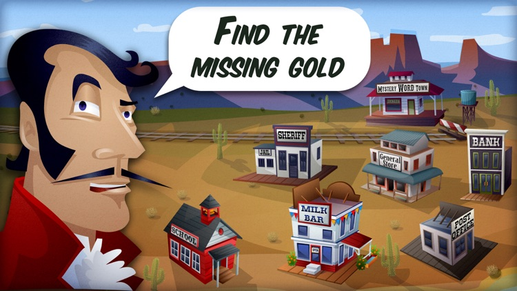Mystery Word Town - Sight Word Spelling screenshot-0