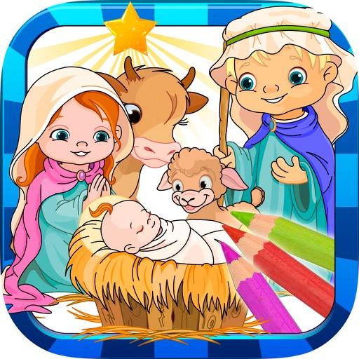 La Biblia Infantil Para Pintar Libro Para Colorear Dibujos