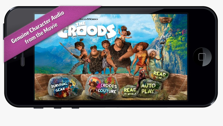 The Croods Movie Storybook Deluxe