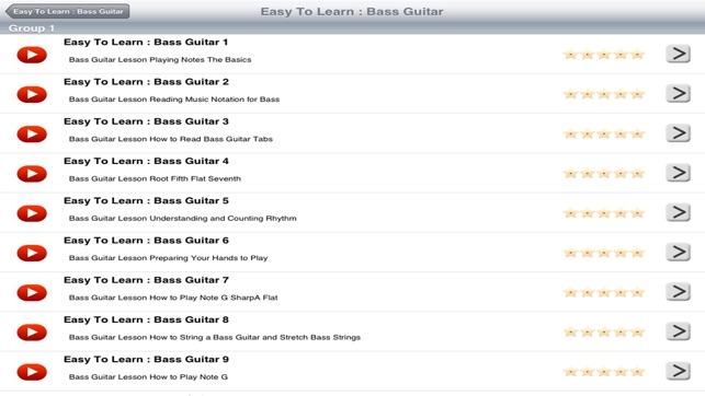 Easy To Learn Bass Guitar App Store