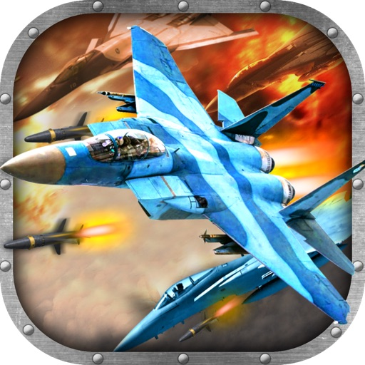2D Jet Fighter Combat Game - Free War Jets Fighting Shooter Games
