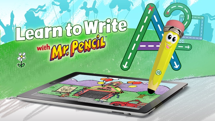 Learn to Write with Mr. Pencil