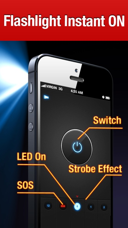 iHandy Flashlight Pro screenshot-2