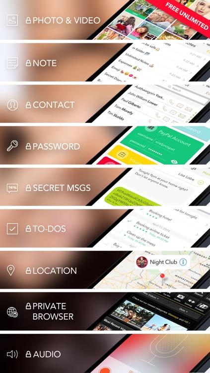 Secret Folder Icon - Private Folder Manager Vault screenshot-4
