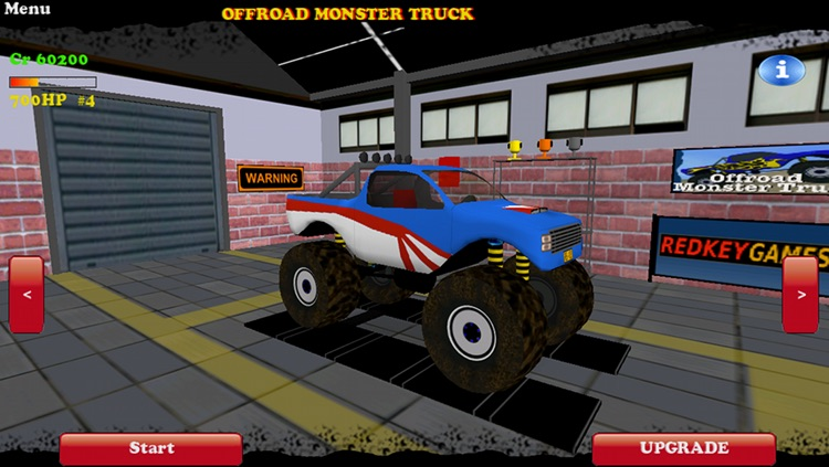 Offroad Monster Truck Lite screenshot-4