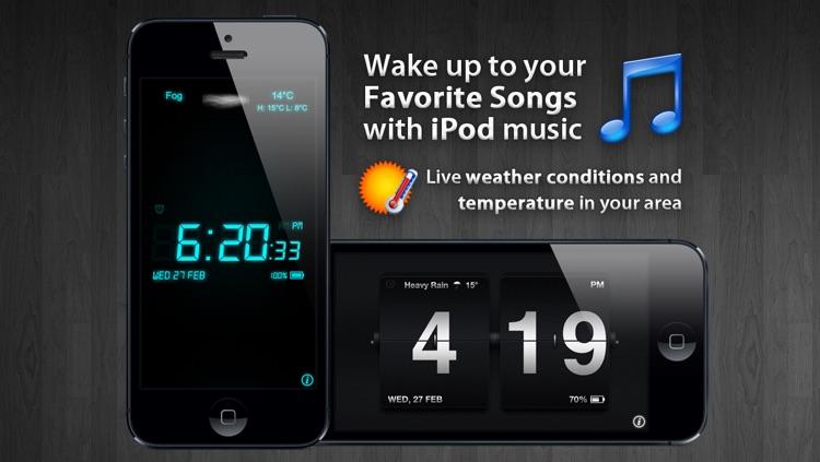 Alarm Clock Rio - Music alarm, local weather & more!