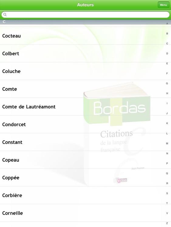 BORDAS 5000 Citations, le dictionnaire des citations de la langue française HD