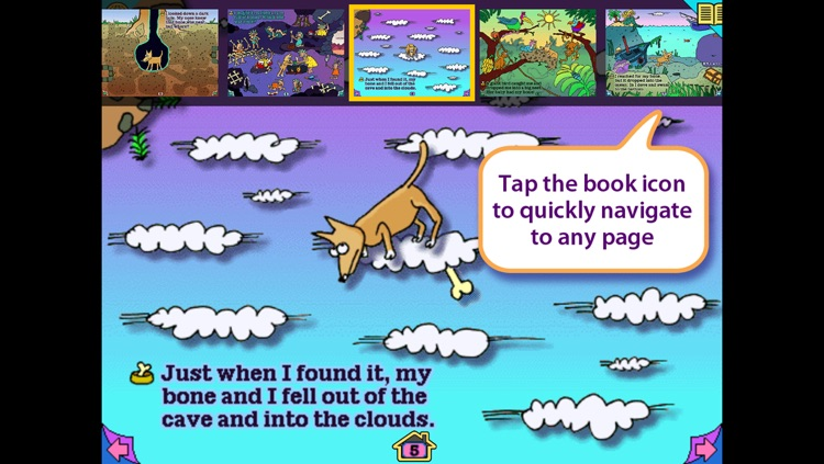 Ruff's Bone - interactive storybook in English and Spanish