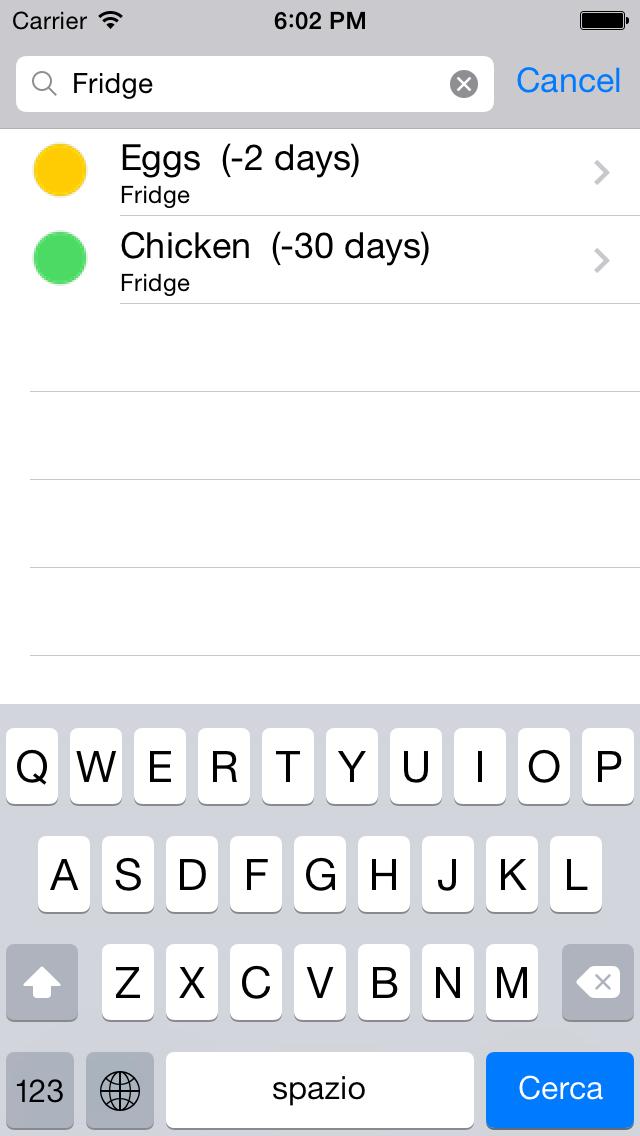Food Saver screenshot two