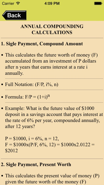 Compound Interest Calculator & Engineering Economy