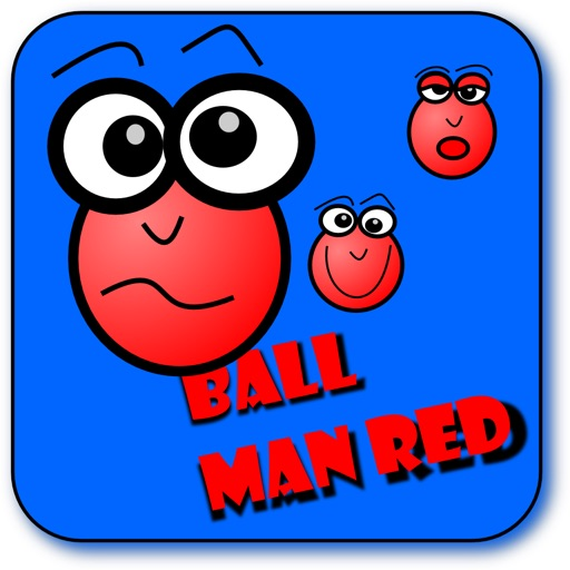 Ball Man Red SD (Bubble Brain Game)