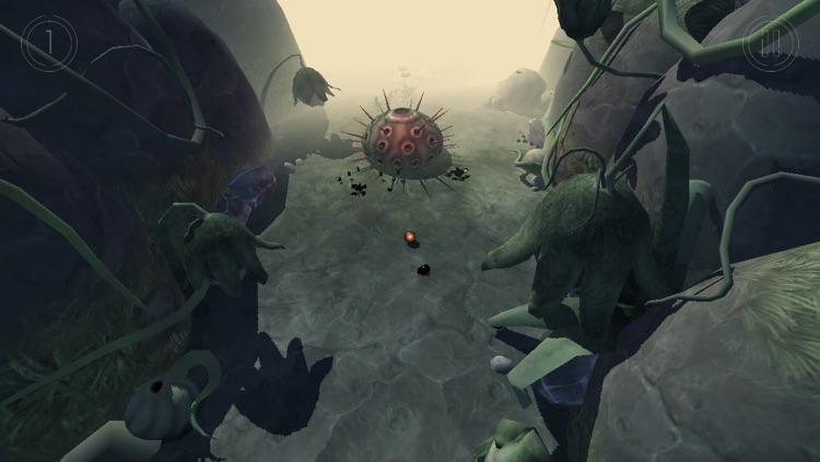 Globosome: Path of the Swarm screenshot-3