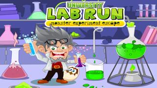 University Lab Run : Monsters Experiment Escape