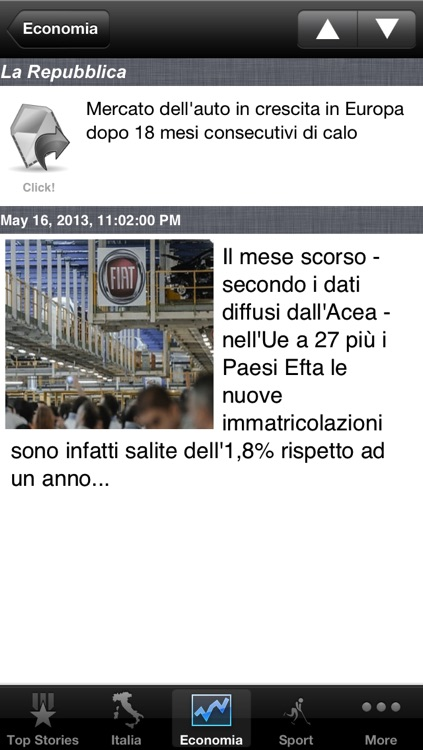 Italy News, Italian Notizie screenshot-1