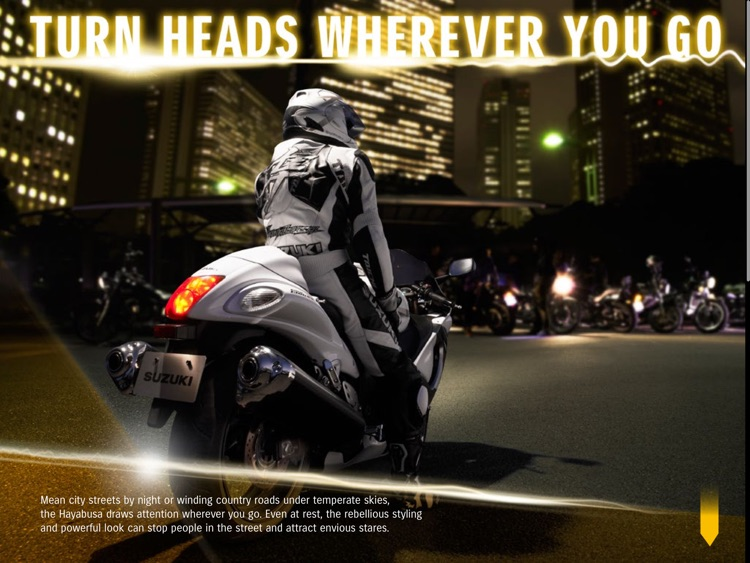 SUZUKI HAYABUSA screenshot-2