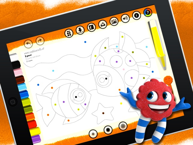 Pictures To Coloring Pages App : Sabbiarelli hd coloring book and pages for kids easy fun and